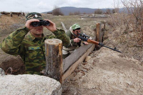 Наблюдательный пост в Южной Осетии