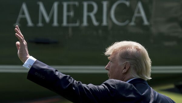 Президент США Дональд Трамп. Архивное фото