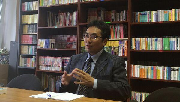 Глава представительства Японской ассоциации по торговле с Россией и новыми независимыми государствами (РОТОБО) Саито Даисукэ