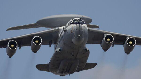Самолет дальнего радиолокационного обнаружения А-50