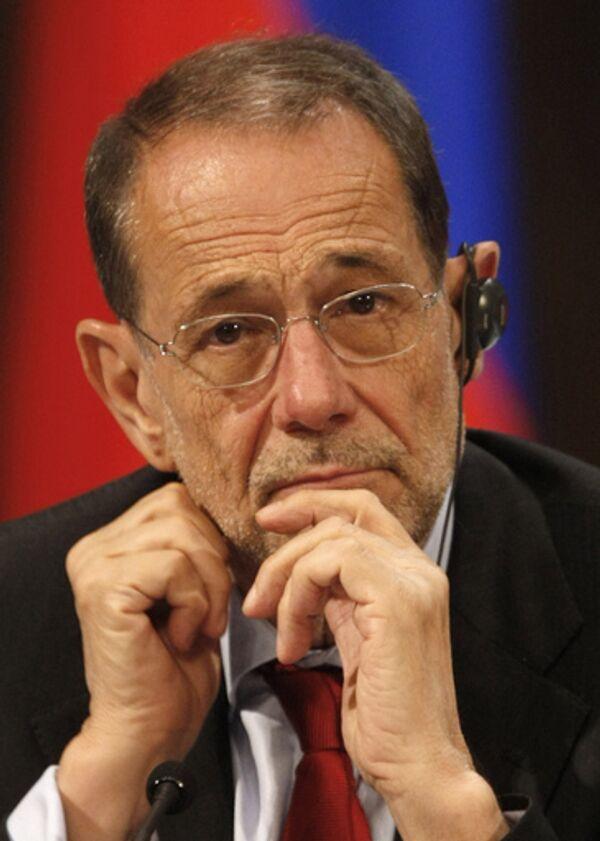 Генеральный секретарь Совета ЕС, верховный представитель по вопросам внешней политики и политики безопасности Хавьер Солана
