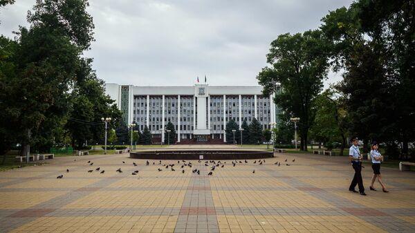 Здание Администрации Республики Адыгея в Майкопе