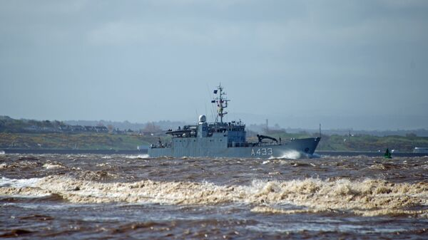 Эстонский корабль обеспечения A433 Wambola