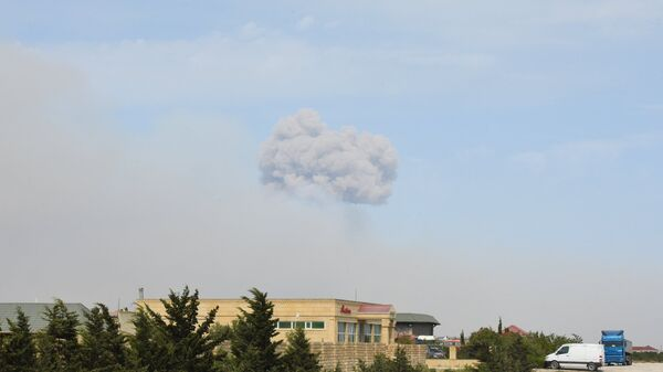 Взрыв прогремел на оружейном складе воинской части в посёлке Гилязи Хызынского района