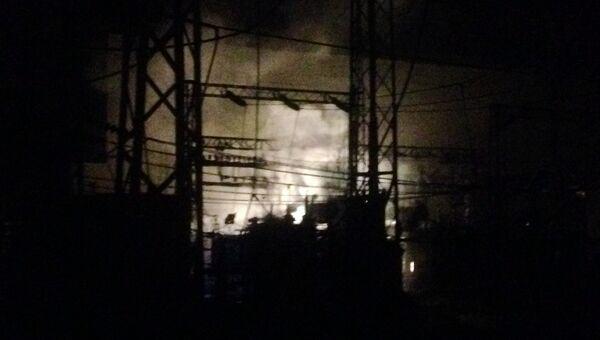 Возгорание на ТЭЦ в Новосибирске ликвидировано. 26 августа 2017