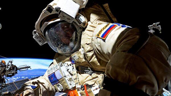 Космонавт Роскосмоса Сергей Рязанский. Архивное фото
