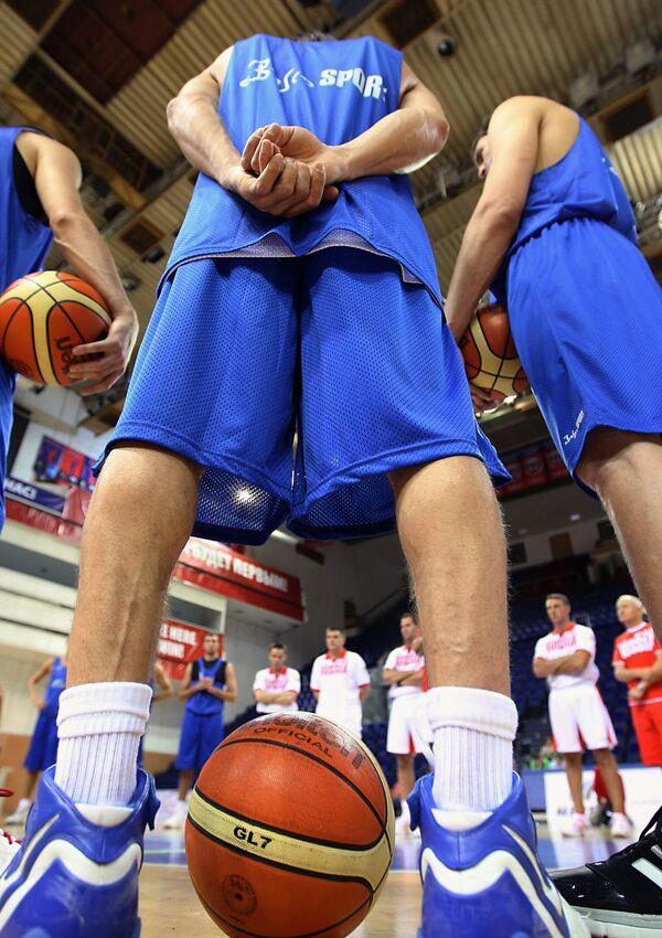 Мужская сборная России по баскетболу