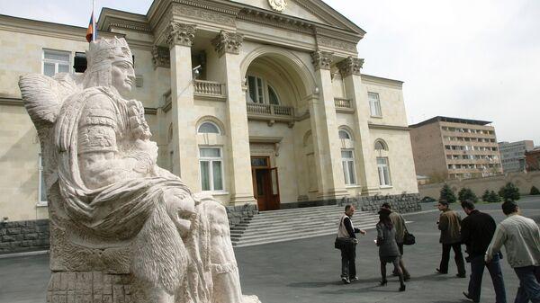 Дворец президента Армении в Ереване.