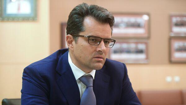 Первый заместитель председателя правления ВЭБа Николай Цехомский