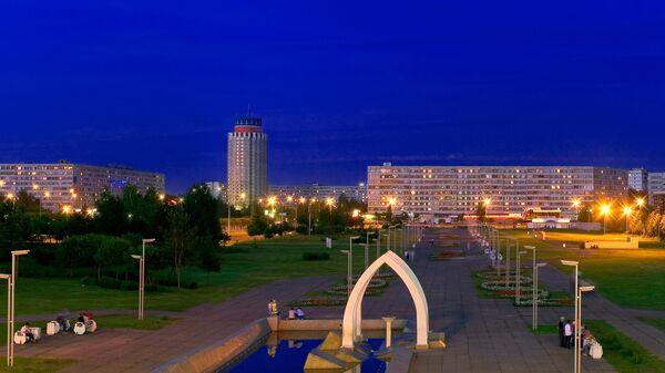 Вид города Набережные Челны
