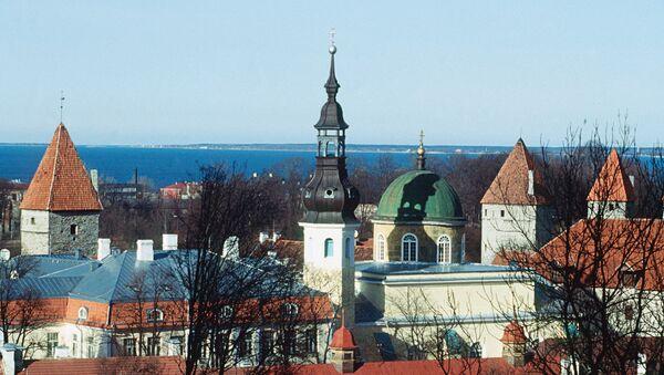 Таллин, старый город. Архив