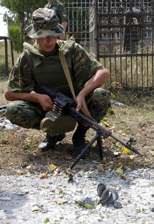 В районе конфликта между Грузией и Южной Осетией