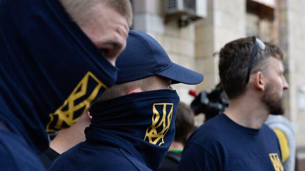 Националисты в Киеве. Архивное фото