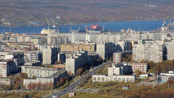 Город Мурманск. Архивное фото