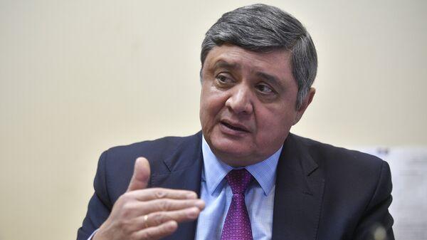 Спецпредставитель президента РФ в Афганистане, директор Второго департамента Азии МИД России Замир Кабулов во время интервью