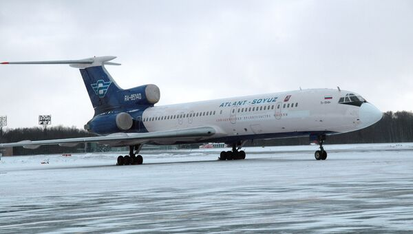 Ту-154. Архив