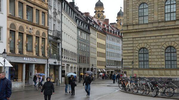 Театральная площадь в Мюнхене. Архивное фото