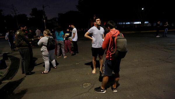 Землетрясение в Мексике. 7 сентября 2017