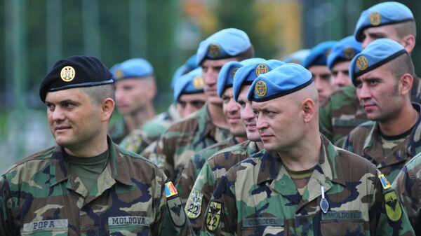 Военнослужащие ВС Молдовы