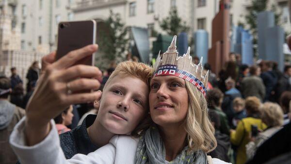 Во время празднования Дня города в Москве. 9 сентября 2017
