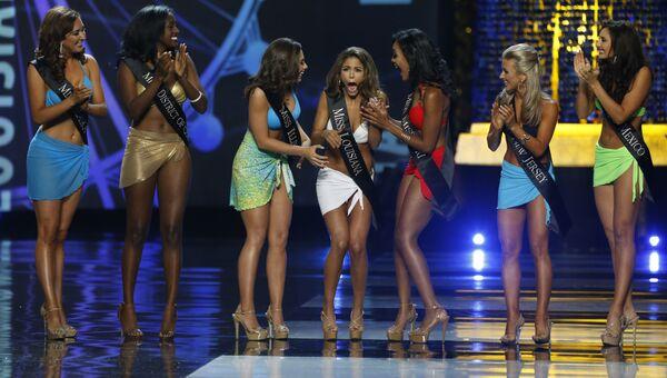 Участницы конкурса красоты Мисс Америка. Архивное фото