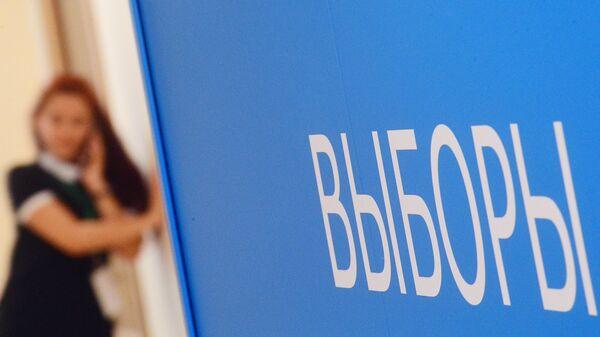 В информационном центре Центральной избирательной комиссии РФ. Архивное фото