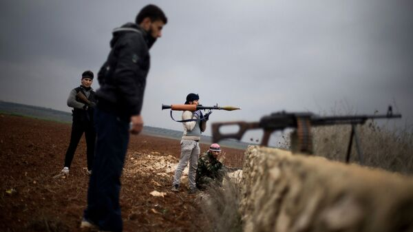 Боевики в Сирии. Архивное фото