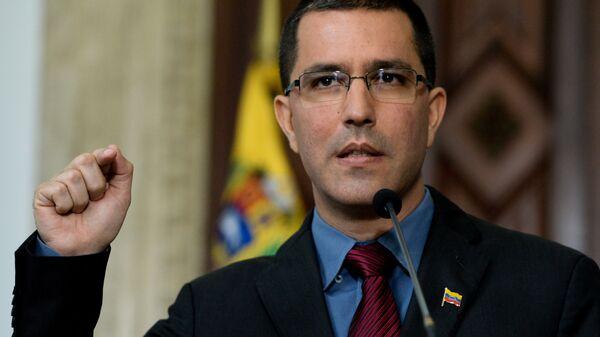 Глава МИД Венесуэлы Хорхе Арреас.