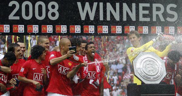 Манчестер Юнайтед выиграл Суперкубок Англии