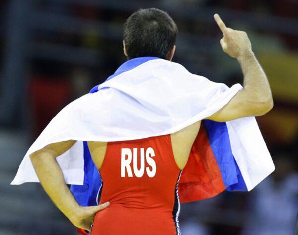 Исламбек Альбиев завоевал золотую медаль в олимпийском турнире по греко-римской борьбе