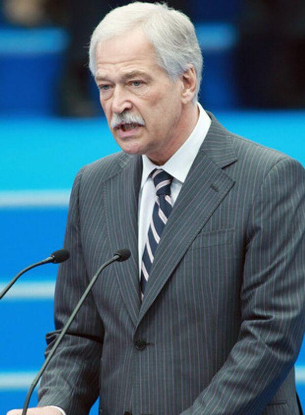 Спикер Госдумы, председатель высшего совета Единой России Борис Грызлов