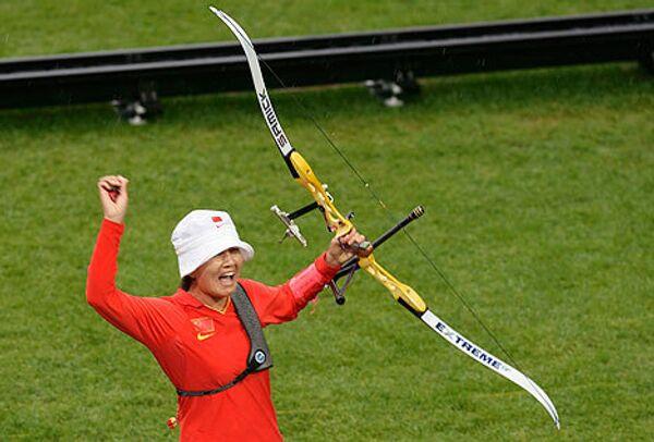 Китайская лучница Чжан Цзюань