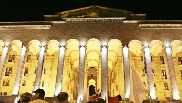 Грузинский парламент. Архивное фото