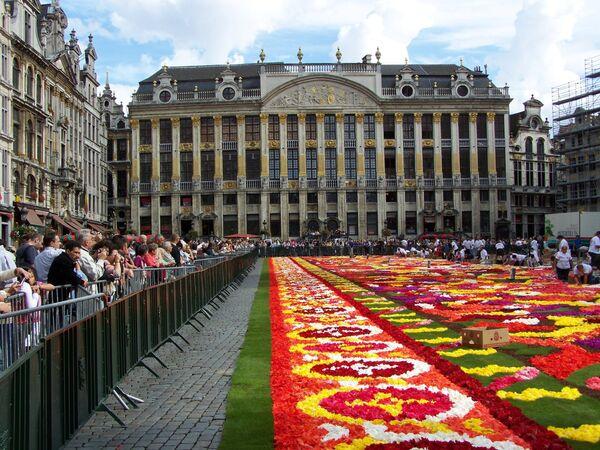Столица Бельгии Брюссель. Архив