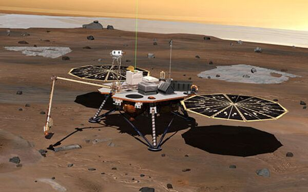 Марсоход Phoenix Mars