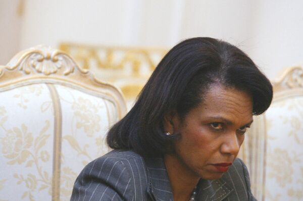 Госсекретарь США Кондолиза Райс. Архив