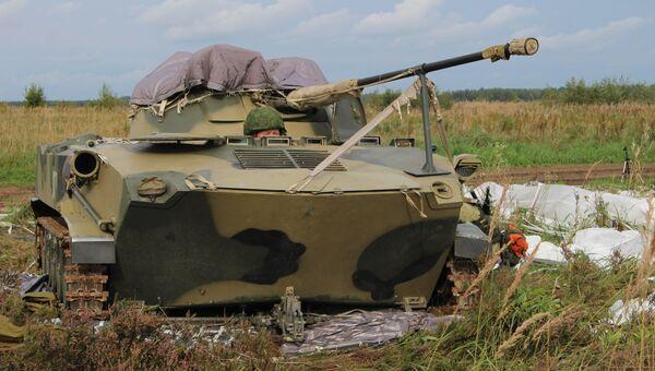 Передовые подразделения Псковского соединения Воздушно-десантных войск выступили в рамках совместного стратегического учения Запад-2017. 14 сентября 2017