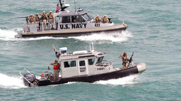 Военно-морские суда США и Ирака в Персидском