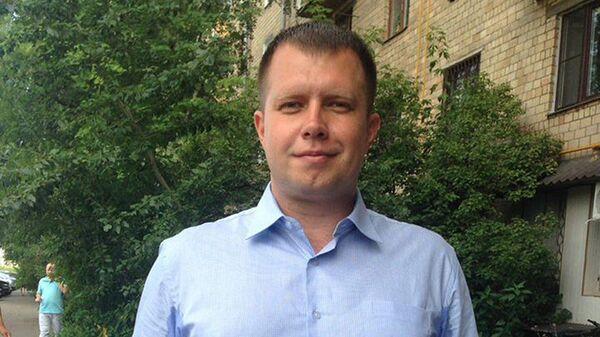 Глава московского штаба Алексея Навального Николай Ляскин