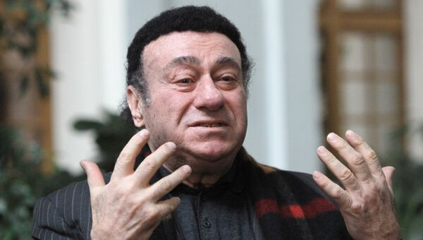 Солист Большого театра Зураб Соткилава. Архивное фото