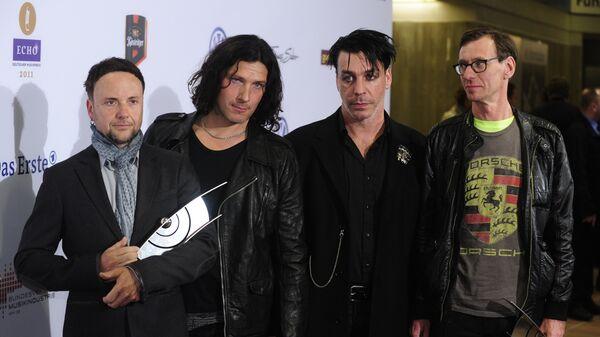 Немецкая рок-группа Rammstein