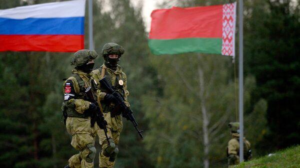 Российско-белорусские учения Запад-2017 в Белоруссии
