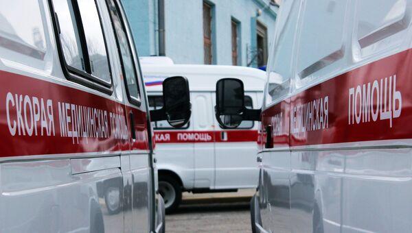 Карета скорой помощи. Архивное фото