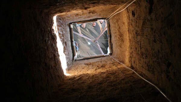 Контрабандистские тоннели в секторе Газа. Архив