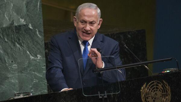 Премьер Израиля Биньямин Нетаньяху. Архивное фото