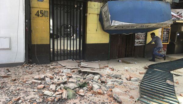 Землетрясение в Мексике. 19 сентября 2017 года