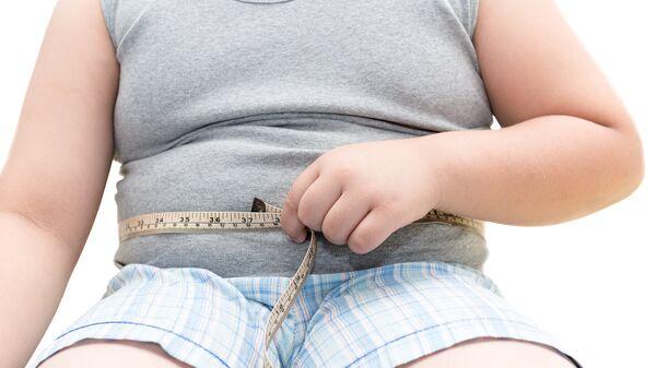 Ребенок с лишним весом