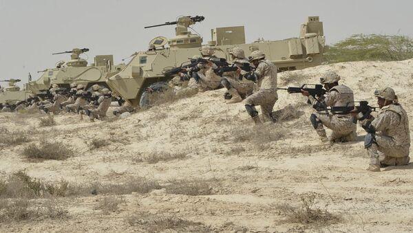 Военнослужащие Вооруженных сил Саудовской Аравии. Архивное фото