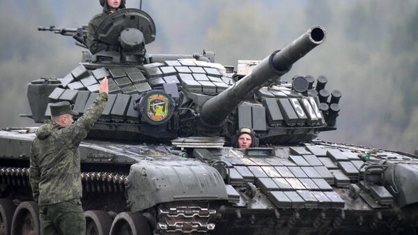 Российско-белорусские военные учения Запад-2017 в Белоруссии. Архивное фото