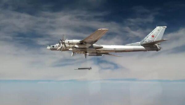 Бомбардировщики Ту-95МС крылатыми ракетами уничтожили объекты ИГ* в Сирии